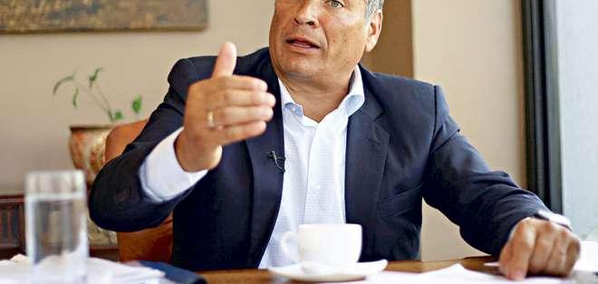 ECUADOR.- Parte de la dirigencia del movimiento expulsa al exmandatario; otro segmento lo desmiente. Foto: Archivo