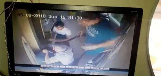 Un video sobre la agresión a guardias de seguridad en Guayaquil generó indignación.