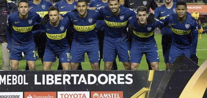 BUENOS AIRES, Argentina.- Boca Juniors jugará el 30 de agosto en Asunción nuevamente contra Libertad. Foto: AFP