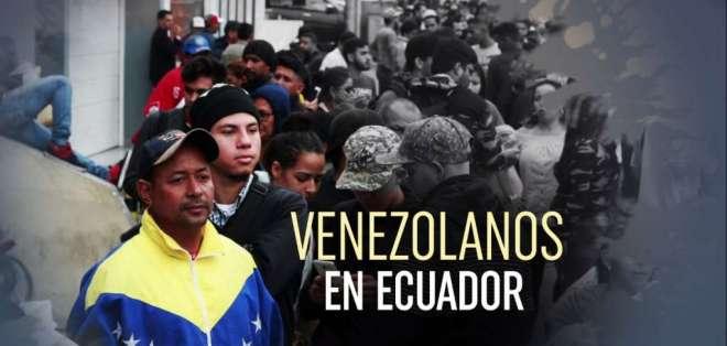 La situación migratoria de los venezolanos en Ecuador se intensifica. Foto: Captura.