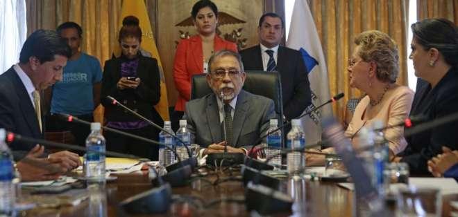 QUITO, Ecuador.- El CPCCS transitorio tiene hasta 10 días para convocar a magistrados a audiencia pública. Foto: Archivo