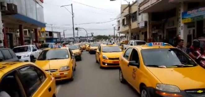 El cuerpo del taxista presentaba signos de violencia. Foto: Archivo
