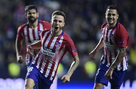 El equipo 'colchonero' venció 4-2 a los 'merengues' y ganó la Supercopa de Europa. Foto: JAVIER SORIANO / AFP