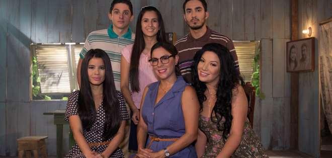 """""""Sharon"""" estuvo presente en la pantalla de los ecuatorianos Foto: Ecuavisa"""