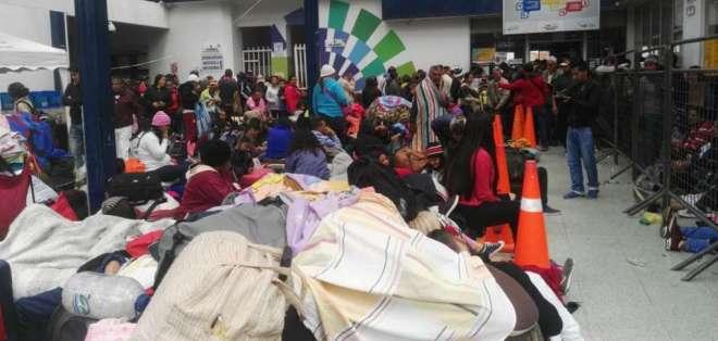 TULCÁN, Ecuador.- El ministro del Interior informó la medida tras reunión de migrantes con Lenín Moreno. Foto: Cortesía