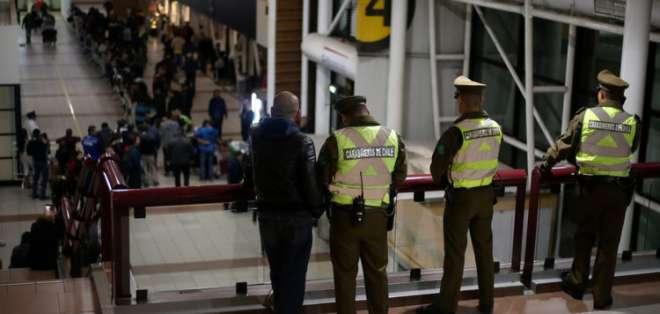 Dos detenidos en Chile por falsas amenazas de bomba que obligaron a desviar vuelos. Foto: biobiochile.cl