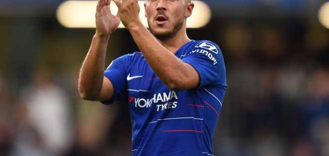 LONDRES, Reino Unido.- El Real Madrid ha demostrado su interés por Hazard. Foto: AFP