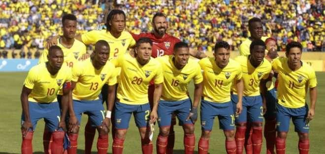 QUITO, Ecuador.- La selección ecuatoriana previo a un partido contra Colombia el 28 de marzo del 2017.