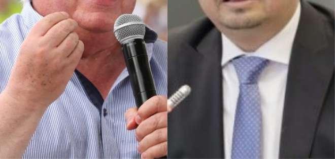 ECUADOR.- Cordero (i) dará declaraciones tras destitución. No le aceptaron apelación a Cruz. Collage: Ecuavisa