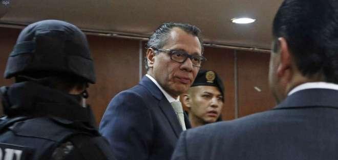 Exvicepresidente está sentenciado a 6 años de prisión por caso de sobornos de Odebrecht. Foto: API