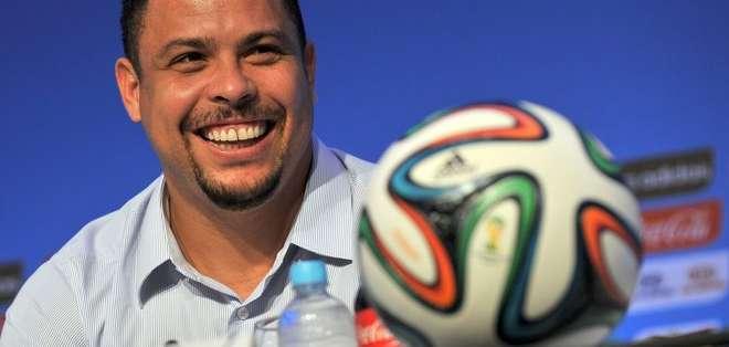 Ronaldo Nazario se retiró del fútbol profesional en 2011. Foto: AFP