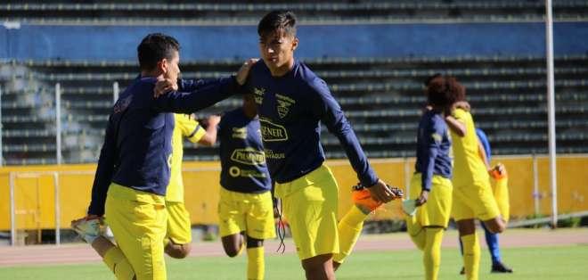 La selección ecuatoriana entrena en Estados Unidos de cara a su partido contra Jamaica el 7 de septiembre. Foto: FEF
