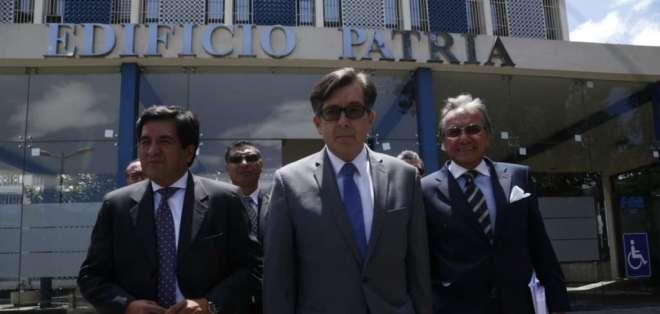 """QUITO, Ecuador.- Montúfar señaló que es """"inconcebible"""" que la constructora brasileña no haya sido vinculada. Foto: API"""