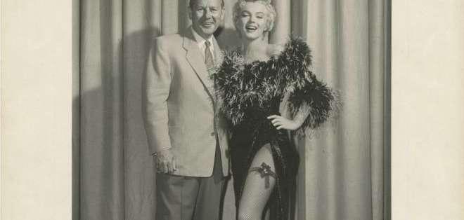 """La foto fue tomada en 1955 durante la filmación de """"The Seven Year Itch""""."""