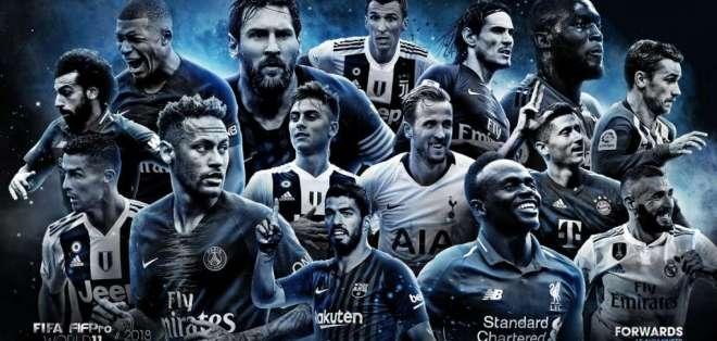 El once ideal se dará a conocer el 24 de septiembre del 2018. Foto: FIFPro