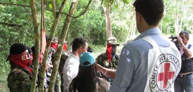 COLOMBIA.- El Comité Internacional de la Cruz Roja informó sobre la liberación, en la zona de Chocó. Foto: Twitter