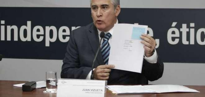 ECUADOR.- Juan Vizueta (foto) pidió licencia y será reemplazado por José Cisneros. Foto: Twitter
