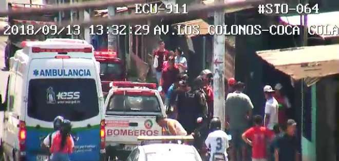 Una vez fue extraída del pozo, la joven fue llevada a una casa asistencial. Foto: ECU 911