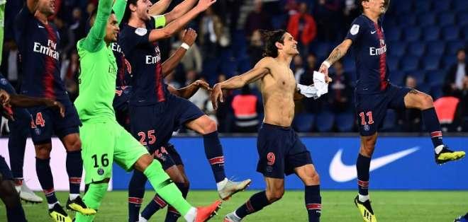 El entrenador Thomas Touchel dio descanso al brasileño y el francés cumplió suspensión. Foto: Anne-Christine POUJOULAT / AFP