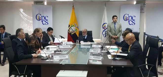 """El CPCCS tomó la decisión """"por la seguridad jurídica del país"""". Foto: API"""