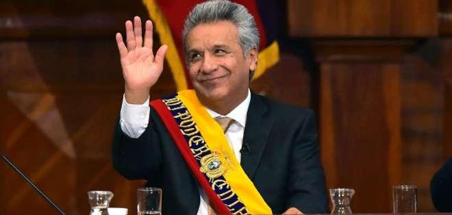 Moreno será el tercer orador del próximo martes. Foto: AFP