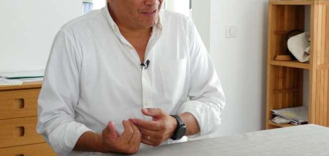 Correa fue acusado por Moreno de alentar su derrocamiento en alianza con el gobierno de Nicolás Maduro. Foto: AP