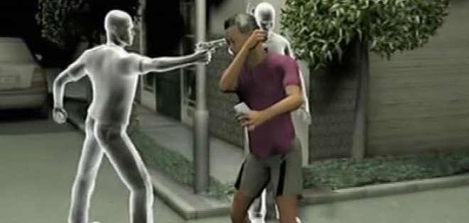 Joven baleado por no dejarse robar en Guayacanes. Foto: captura de video