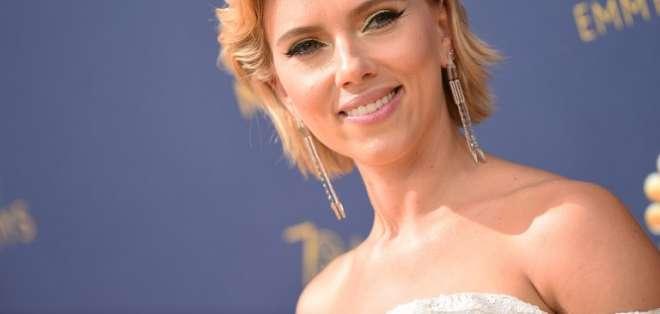 El vestido con el que Scarlett Johansson reencarnó a Marilyn Monroe. Foto: AFP