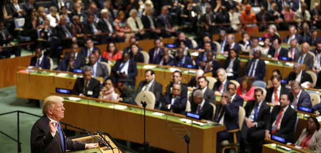 NUEVA YORK, EE.UU.- Unos 130 jefes de Estado y de Gobierno asistirán a la maratón de seis días de discursos. Foto: AFP.