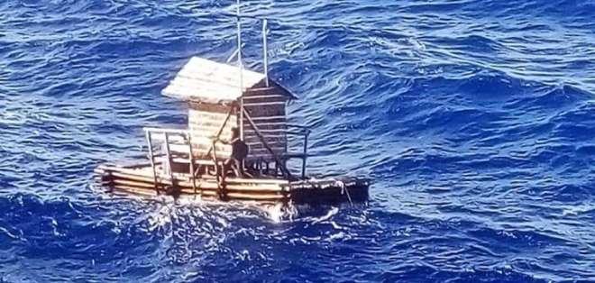 Sobrevivió 7 semanas a la deriva en el Pacífico.Foto: AP