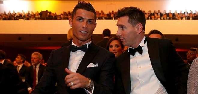 Ambos futbolistas disputan en categorías distintas dentro de esta premiación. Foto: AFP