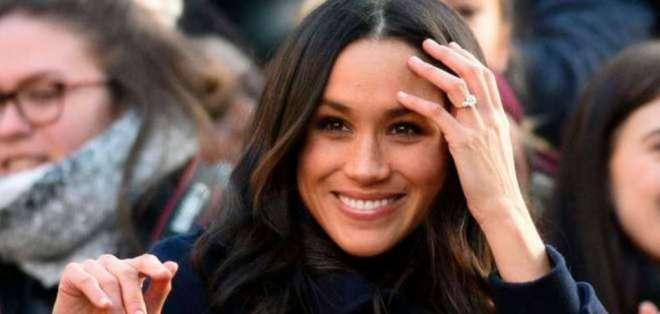 Una vez más, la esposa del príncipe Harry demostró que es una dama real diferente a todas. Foto: AFP