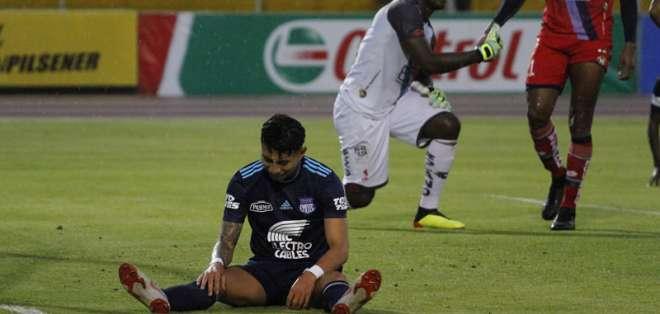 Los 'azules' igualaron 1-1 con El Nacional en el estadio Olímpico Atahualpa. Foto: API