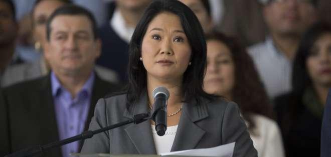 Detienen a líder opositora Keiko Fujimori por lavado de activos. Foto: AP