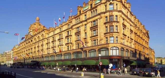 Harrods es una de las tiendas más lujosas de Londres