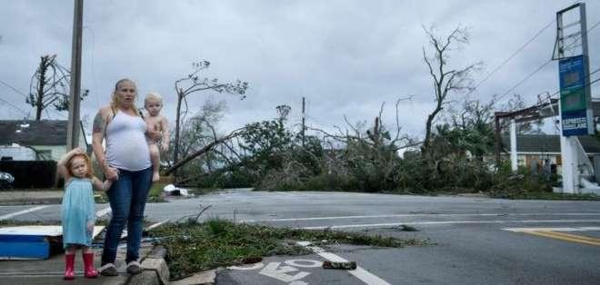 Michael es el segundo huracán de categoría 4 que llega a Florida en 13 meses, después del huracán Irma el año pasado.