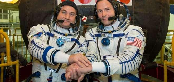 Estaba previsto que Ovchinin y Hague iniciaran una estadía de seis meses en la Estación Espacial Internacional.