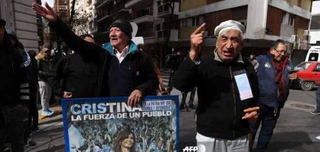 Fiscal pide detención inmediata de Cristina Kirchner Foto: AFP
