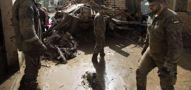 Suben a 12 los muertos por inundaciones en Mallorca Foto: AFP