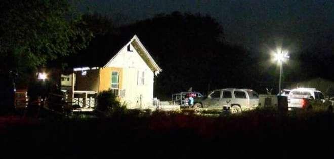 Fiesta de cumpleaños termina en tiroteo en Texas Foto: Twitter