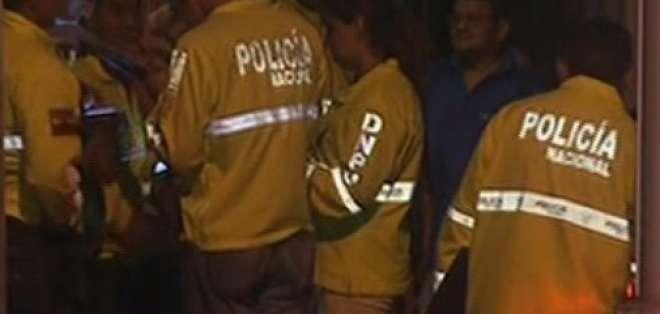 Confesó haber asesinado a su pareja en Durán. Foto: captura de video