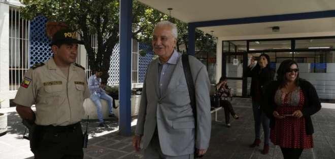 Chiriboga aseguró que no ha cometido ninguna irregularidad. Foto: API