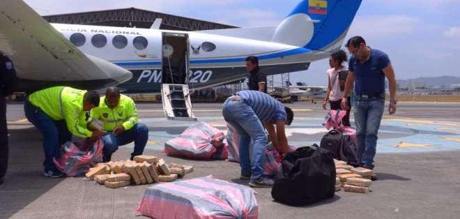 El alcaloide fue hallado por Estados Unidos y Ecuador en aguas internacionales. Foto: API