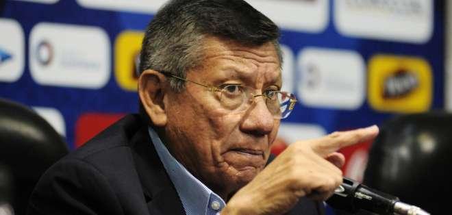 Carlos Villacís señaló que la FEF abrió expedientes por estos casos. Foto: API