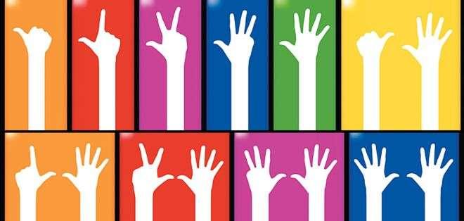 1, 2, 3, 4, 5, 6, 7, 8, 9 y 10... así aprendimos a contar desde niños, con todo y los dedos.