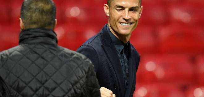 El delantero portugués habló en rueda de prensa previo al duelo con Manchester United. Foto: Oli SCARFF / AFP