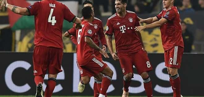 El equipo alemán llegó a 7 puntos en el grupo E tras dos victorias y un empate. Foto: ARIS MESSINIS / AFP
