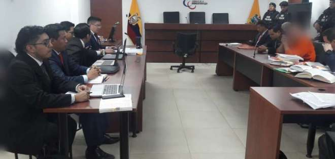 QUITO, Ecuador.- Pareja tiene sobre sus hombros otras condenas relacionadas al caso Petroecuador. Foto: Fiscalía.
