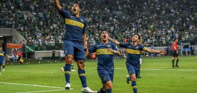 El equipo 'xeneixe' empató 2-2 con Palmeiras y pasó con 4-2 en el marcador global. Foto: Miguel SCHINCARIOL / AFP