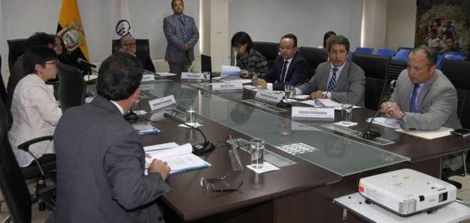 La selección de los aspirantes se dio a conocer durante sesión de este martes. Foto: AFP